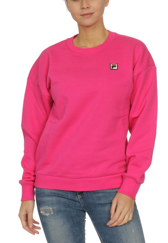 Fila Sweater Damen SUZANNA CREW SWEAT 687456 Pink A163 Pink Yarrow Ansicht