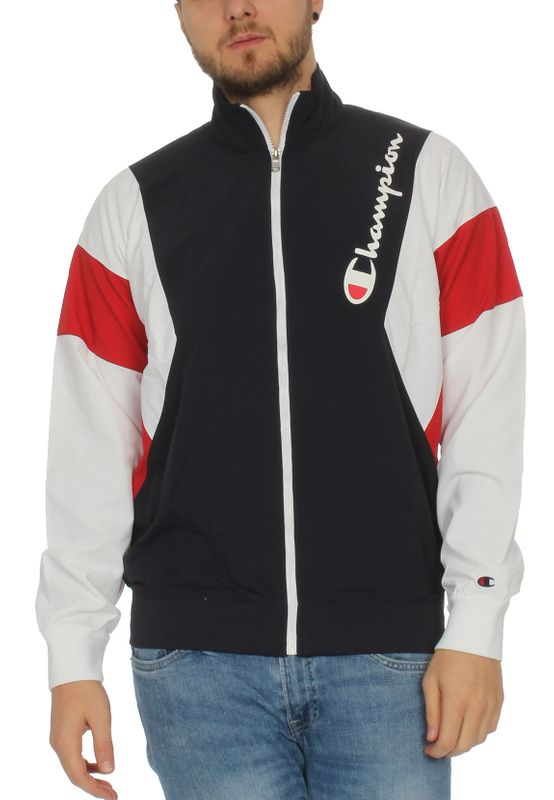 Champion Zipper Herren 213642 F19 BS505 Night/WHT/HTR Dunkelblau Ansicht
