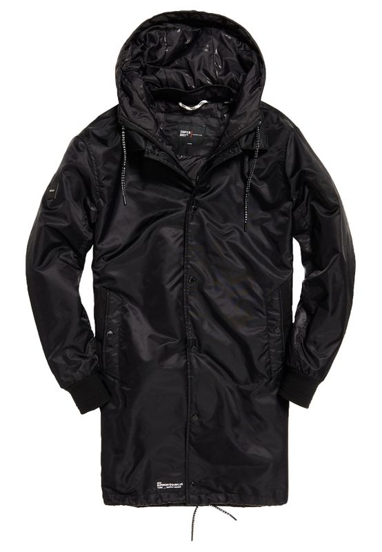 Superdry Mantel Herren SURPLUS GOODS COACH TRENCH Black Ansicht