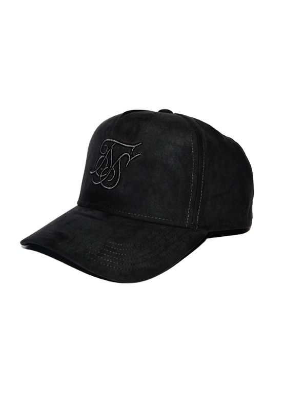 SikSilk Trucker Cap SUEDE TRUCKER SS-15941 Dark Grey Ansicht