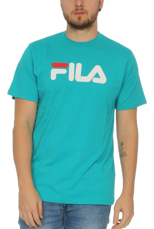 Fila T-Shirt Herren CLASSIC PURE SS TEE 68109 Türkis V70 Lake Blue Ansicht