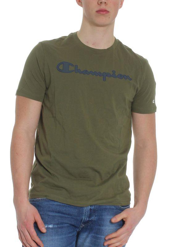Champion T-Shirt Herren 213481 F19 GS550 WMS Khaki Ansicht
