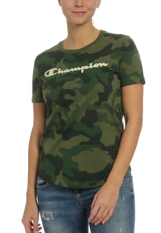 Champion T-Shirt Damen 112482 F19 GL515 BZG/ALLOVER Ansicht