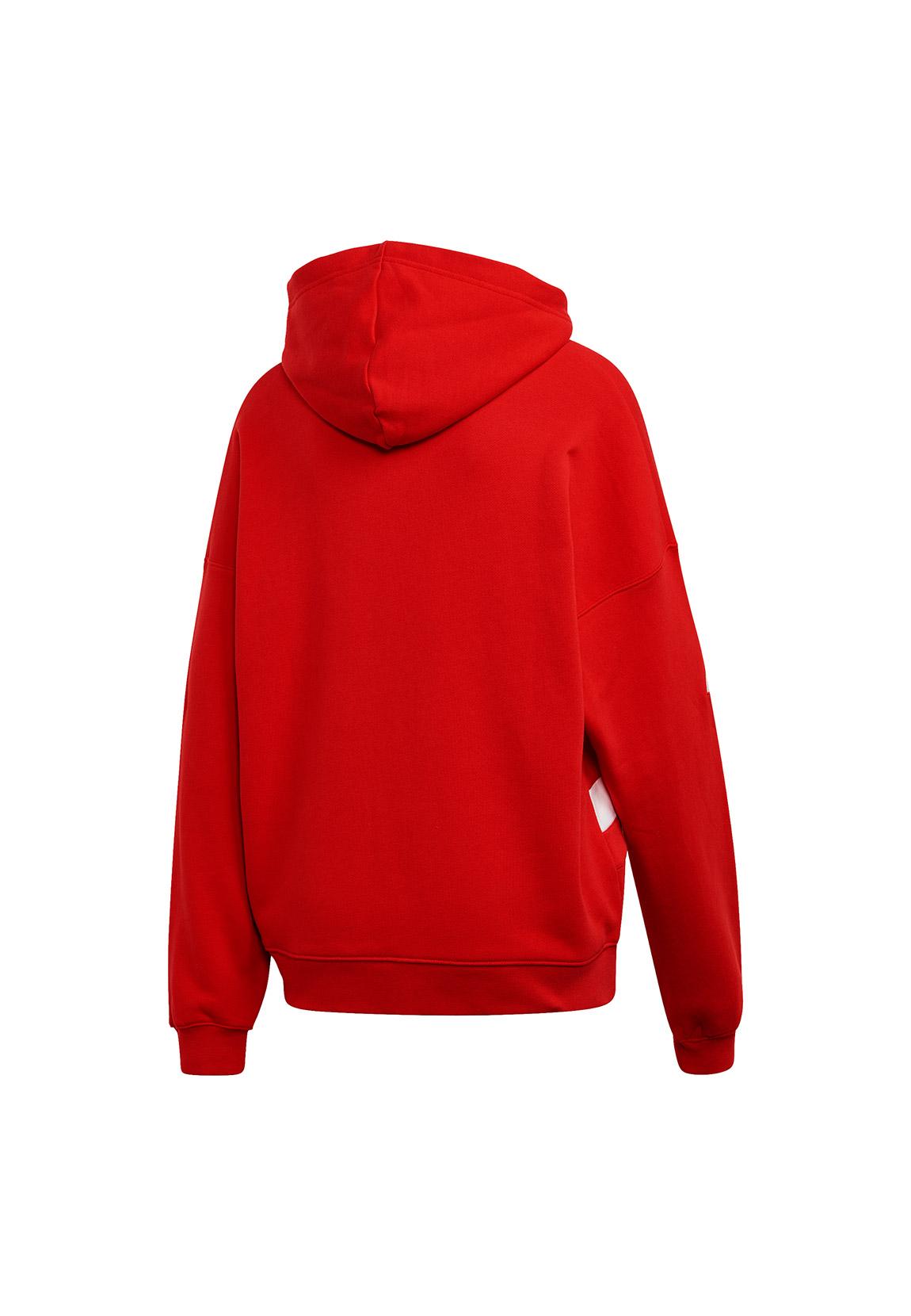Adidas Originals Kapuzenpullover Damen LRG LOGO Hoodie FS1307 Rot