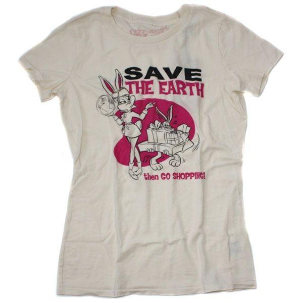 Outpost T-Shirt Women - Organic Shopping - Creme
