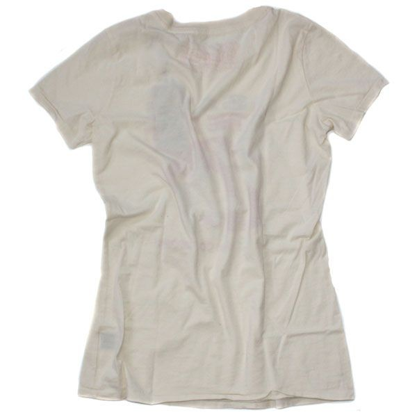Outpost T-Shirt Women - Organic Shopping - Creme – Bild 2