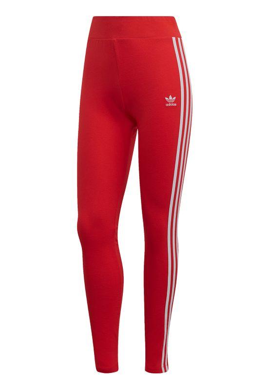 Adidas Originals Leggings Damen 3 STR TIGHT FM3283 Rot Ansicht