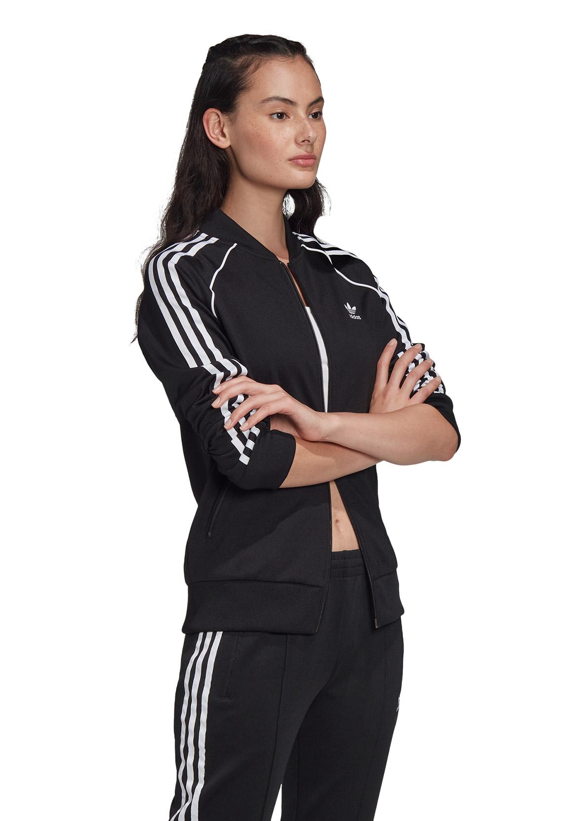 Adidas Originals Sweatjacke Damen SS TT FM3288 Schwarz