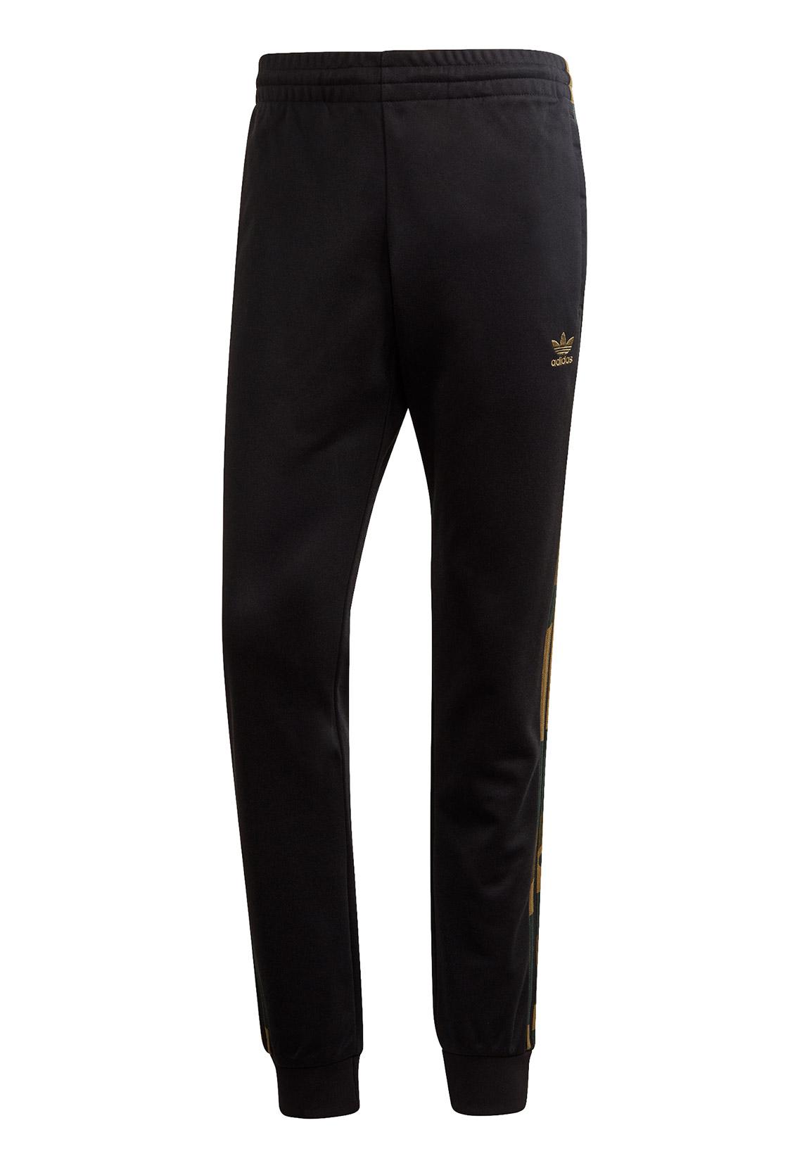 adidas originals jogginghose herren schwarz polyester