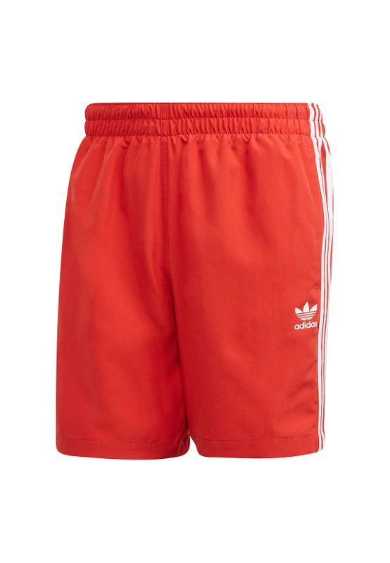 Adidas Originals Herren Badehose 3 STRIPES SWIMS FM9876 Rot Ansicht