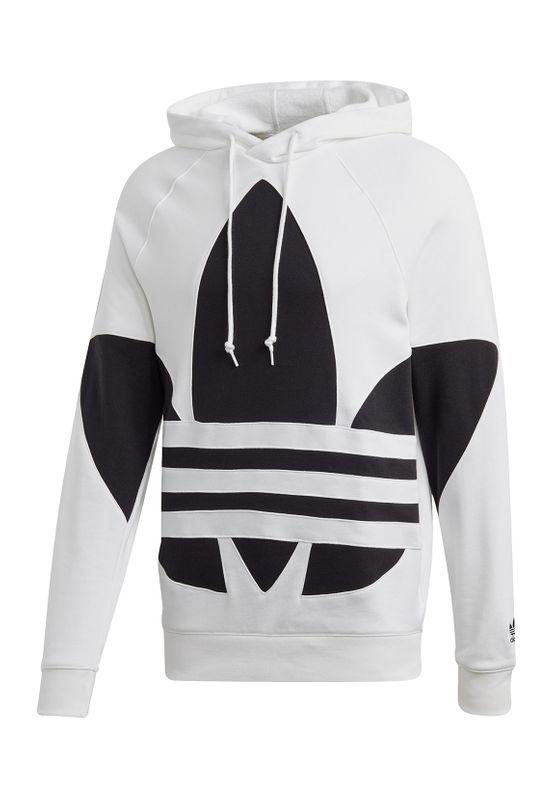 Adidas Originals Sweater Herren BG TREFOIL HOOD FM9909 Weiss Ansicht