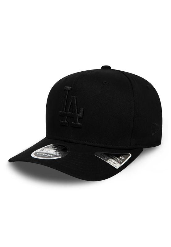 New Era Tonal Black 9Fifty Snapback Cap LA DODGERS Schwarz Schwarz Ansicht
