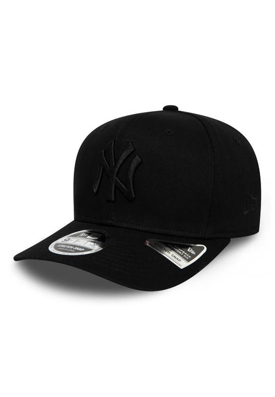New Era Tonal Black 9Fifty Snapback Cap NY YANKEES Schwarz Schwarz Ansicht