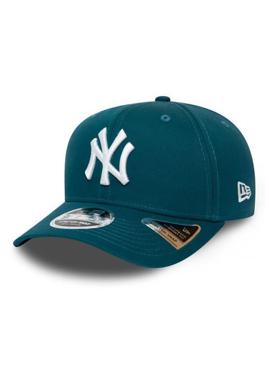 New Era Leag Ess 9Fifty Snapback Cap NY YANKEES Türkis Weiß Ansicht