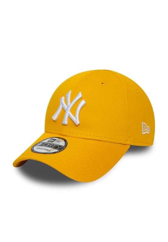 New Era Essential KTD Infant Baby 9Forty Adjustable Cap NY YANKEES Gelb Ansicht