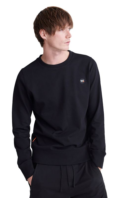 Superdry Sweatshirt Herren COLLECTIVE CREW Black Ansicht