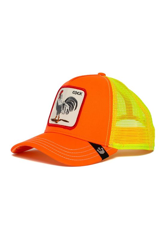Goorin Bros. Trucker Cap ELECTRIC TAMALE Neon Orange Gelb Ansicht