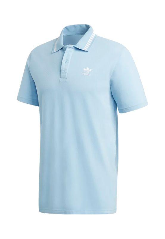 Adidas Originals Poloshirt Herren PIQUE POLO FM9951 Hellblau Ansicht