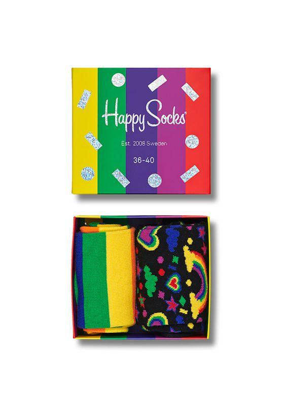 Happy Socks Geschenkbox PRIDE GIFT BOX XPRI02-0100 Mehrfarbig Ansicht