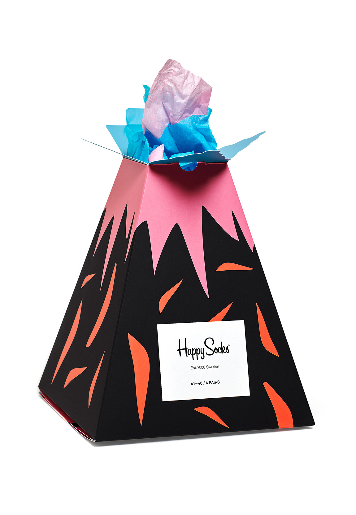 Happy Socks Geschenkbox VOLCANO GIFT BOX XHAW09-0100 Mehrfarbig