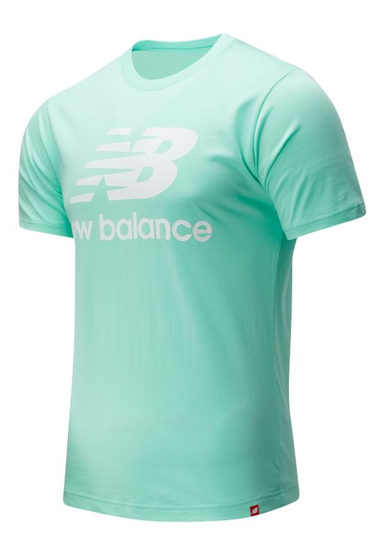 New Balance T-Shirt Herren ESSENTIALS STACKED TEE SHIRT MT01575 Neo Mint Ansicht