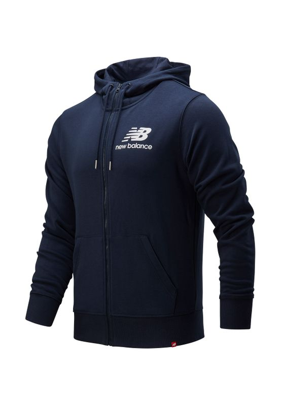 New Balance Herren Sweatjacke ESSENTIALS STACKED JACKET MJ91549 Eclipse Ansicht