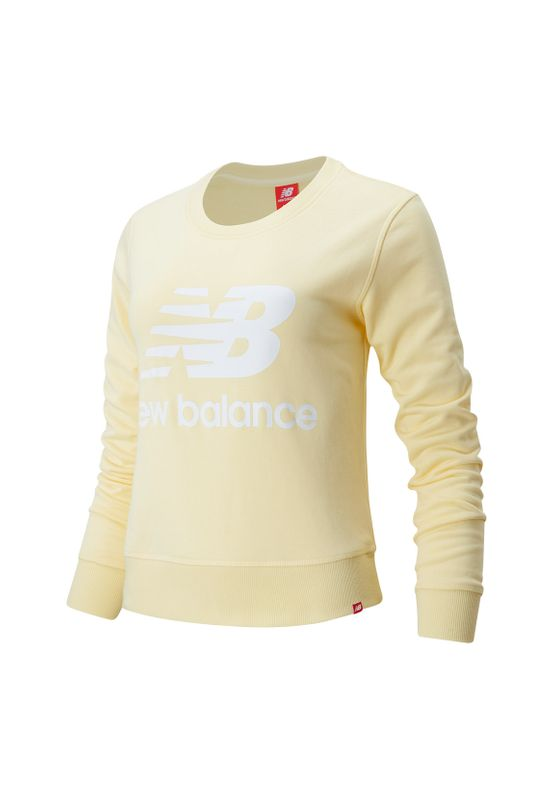 New Balance Crewneck  Damen ESSENTIALS CREW WT91585 Sunglow Ansicht