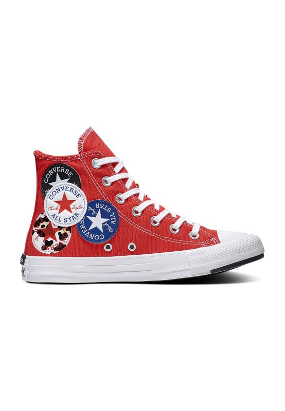Converse Chucks CTAS HI UNIVERSITY 166736C Red Rot Ansicht