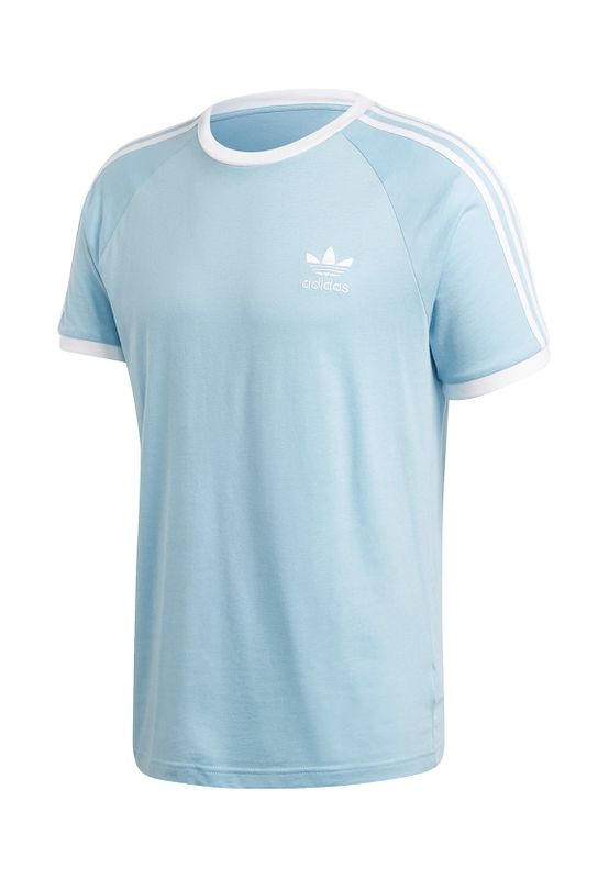 Adidas Originals T-Shirt Herren 3-STRIPES TEE FM3773 Hellblau Ansicht