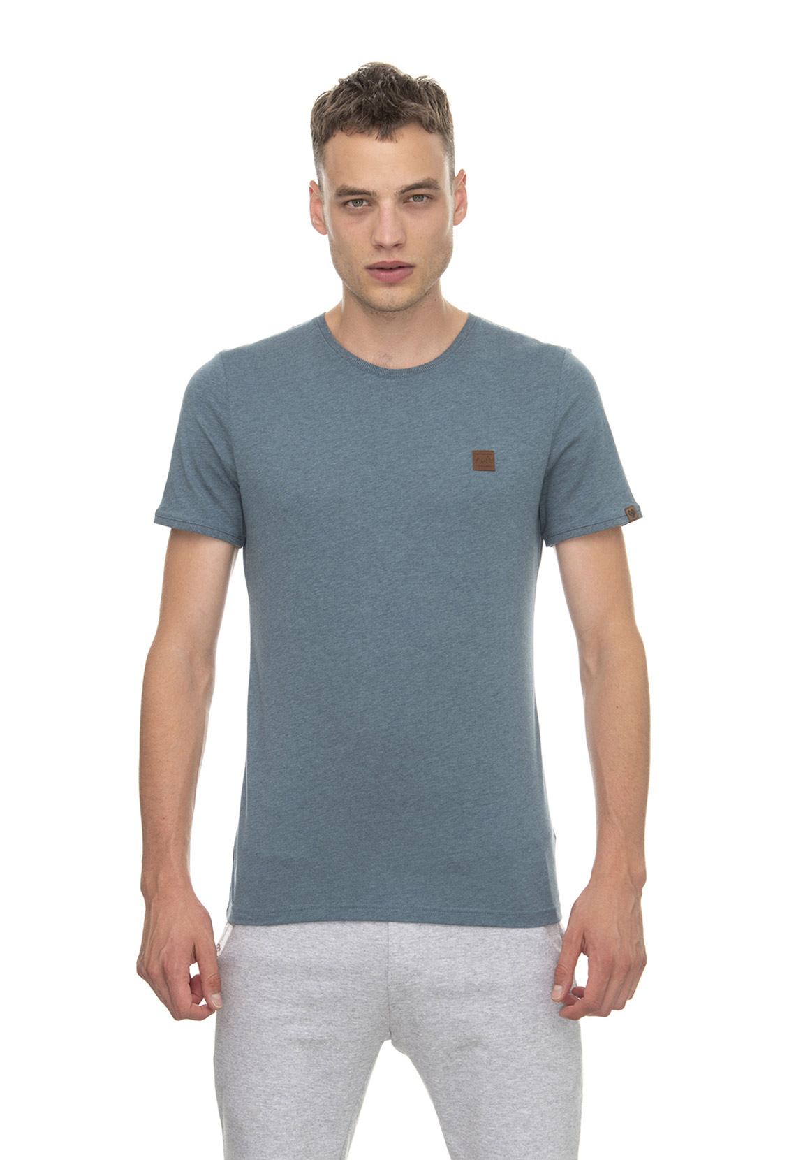 Ragwear T-Shirt Herren GRADY 2012-15001 Denim Blue 2010