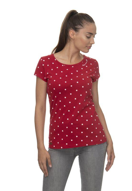 Ragwear T-Shirt Damen T-Shirt MINT DOTS 2011-10023 Rot Red 4000 Ansicht