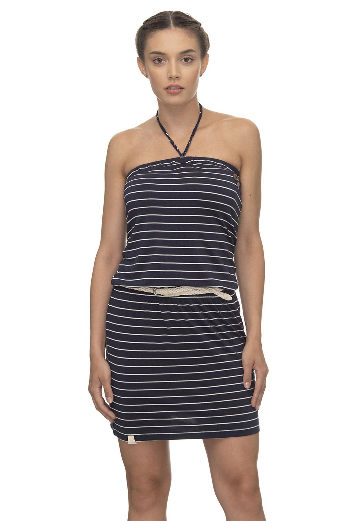 ragwear kleid damen chicka 2011-20001 blau navy 2028 | fashioncode.de  onlineshop