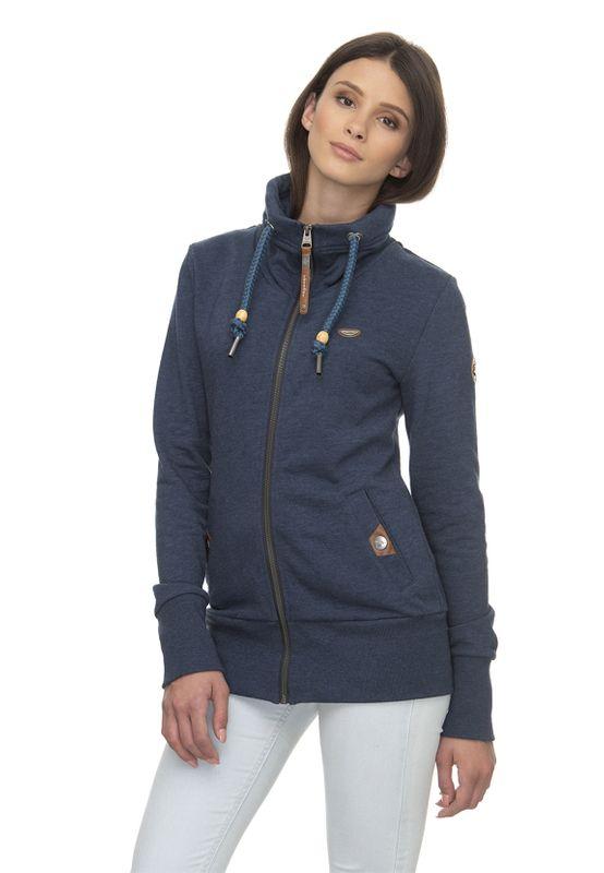 Ragwear Zipper Damen RYLIE ZIP 2011-30036 Blau Denime Blue 2010 Ansicht