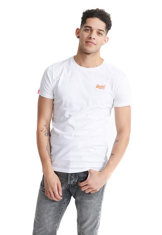 Superdry T-Shirt Herren OL NEON LITE TEE Optic Ansicht