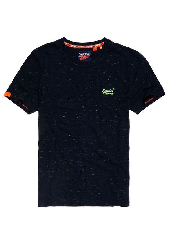 Superdry T-Shirt Herren OL VINTAGE EMB CREW Navy Fluro Space Dye Ansicht