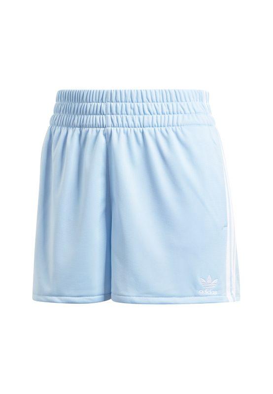 Adidas Originals Shorts Damen 3 STR SHORT FM2611 Hellblau Ansicht