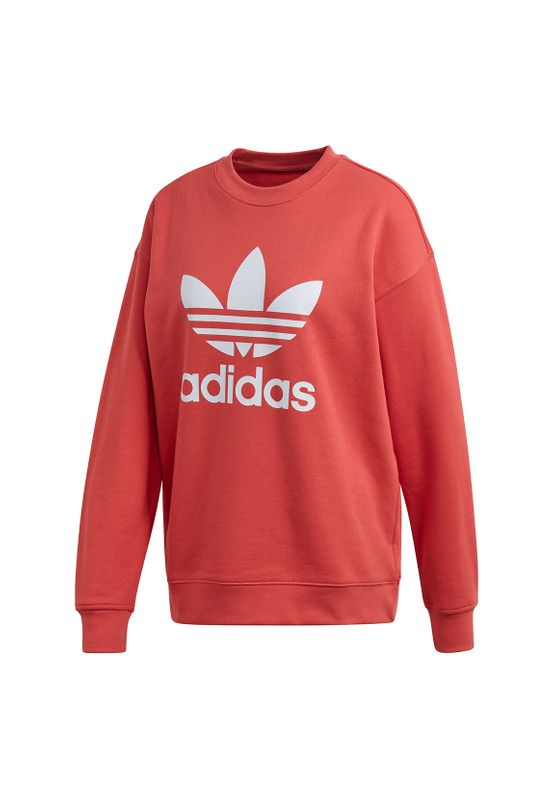 Adidas Originals Sweater TRF CREW SWEAT FM3291 Rot Ansicht
