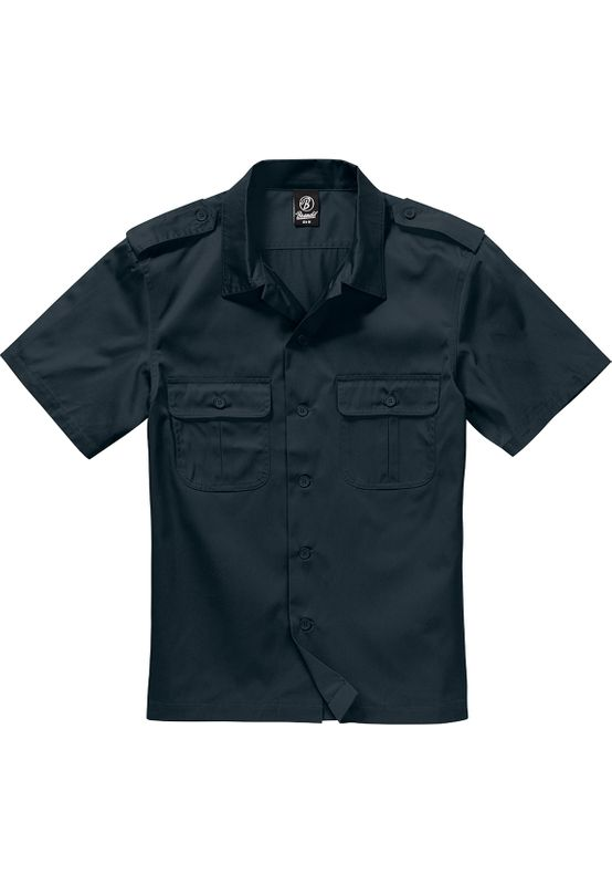 Brandit Hemd SHORT SLEEVES US SHIRT BD4101 Black Ansicht
