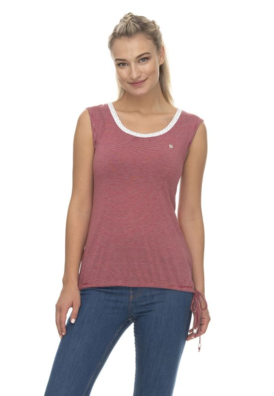 Ragwear T-Shirt Damen EIREEN 2011-10017 Rot Red 4000 Ansicht