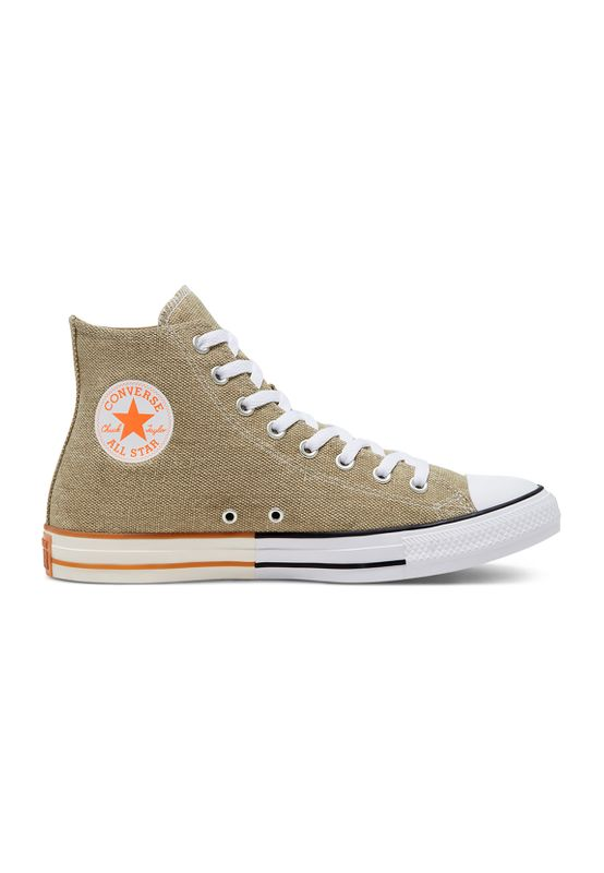 Converse Chucks CTAS HI 167658C Khaki/Total Orange/White Ansicht