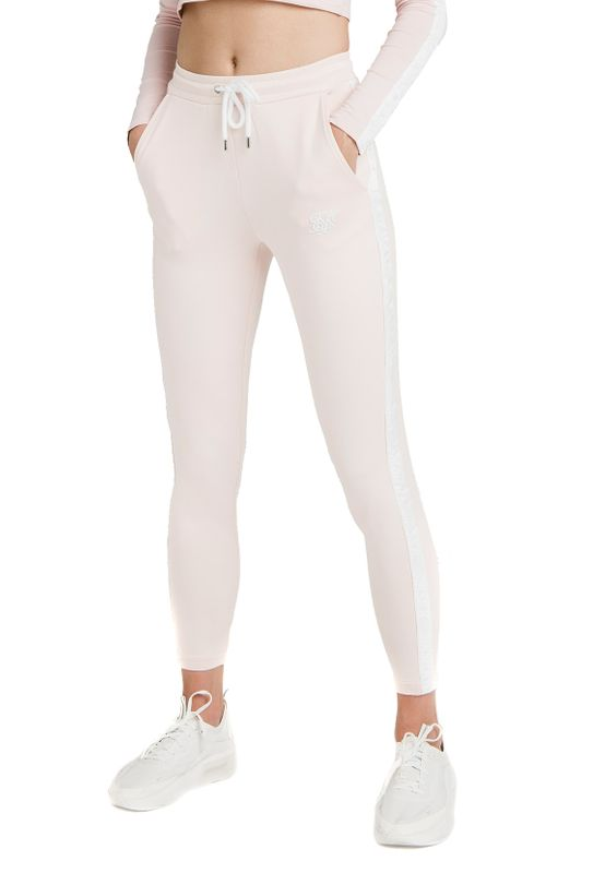 SikSilk Jogginghose Damen TAPE TRACK PANTS SSW-1427 Cloud Pink Ansicht