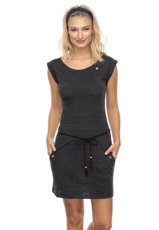 Ragwear Kleid Damen TAG 2041-20005 Schwarz 1010 Black Ansicht