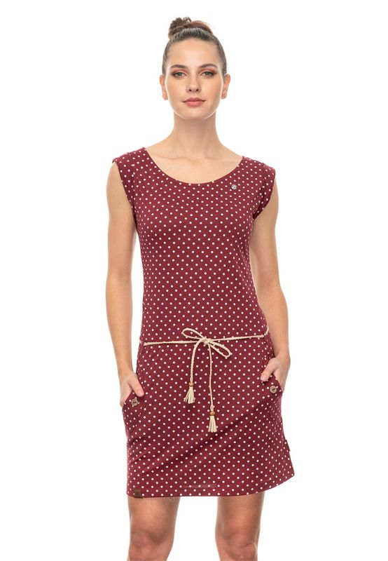 Ragwear Kleid Damen TAG DOGS 2041-20006 Dunkelrot 4055 Wine Red Ansicht