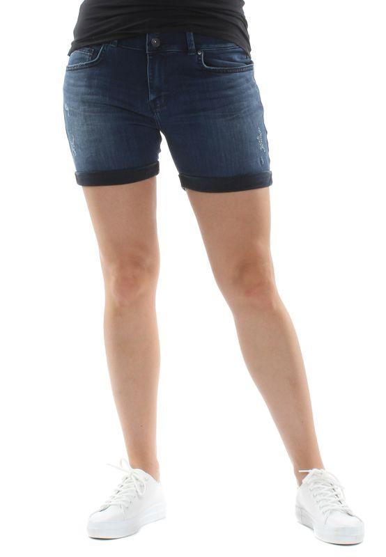 LTB Shorts Damen BECKY X Dunkelblau Yummy Wash Ansicht
