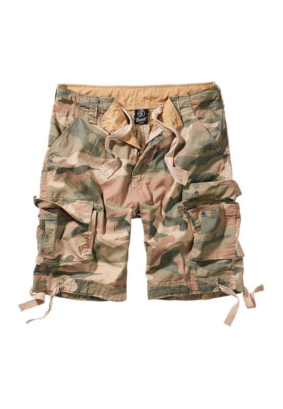 Brandit Shorts URBAN LEGEND CARGO SHORTS BD2012 Wood Camo Ansicht