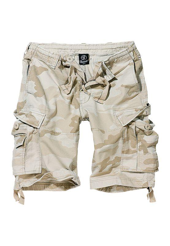 Brandit Shorts VINTAGE CARGO SHORTS BD2002 Sandcamo Ansicht