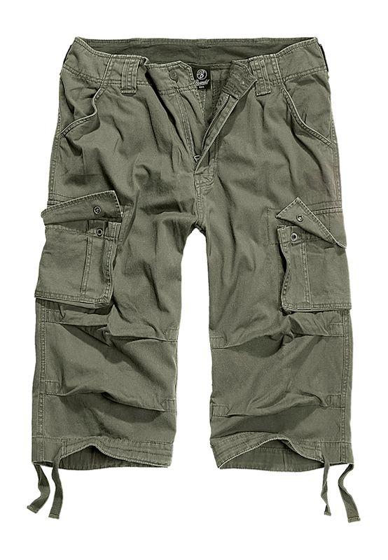 Brandit Shorts URBAN LEGEND CARGO 3/4 SHORTS BD2013 Olive Ansicht