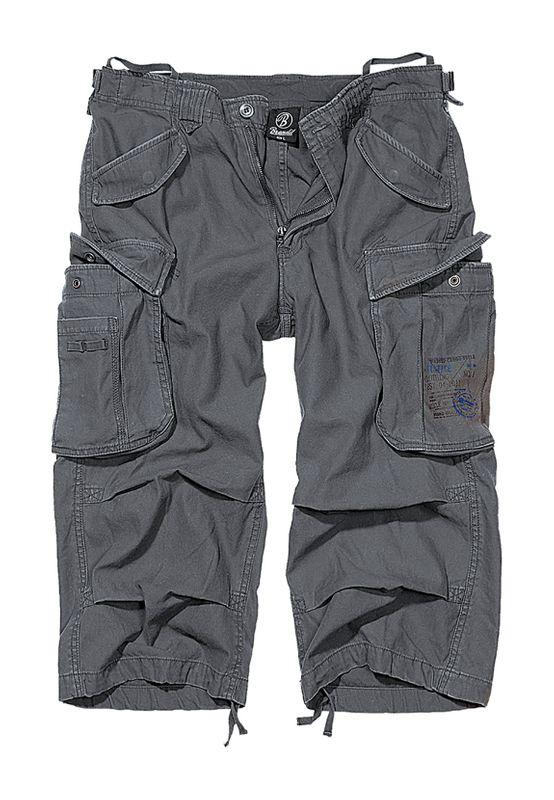 Brandit Shorts INDUSTRY VINTAGE CARGO 3/4 SHORTS BD2003 Charcoal Ansicht