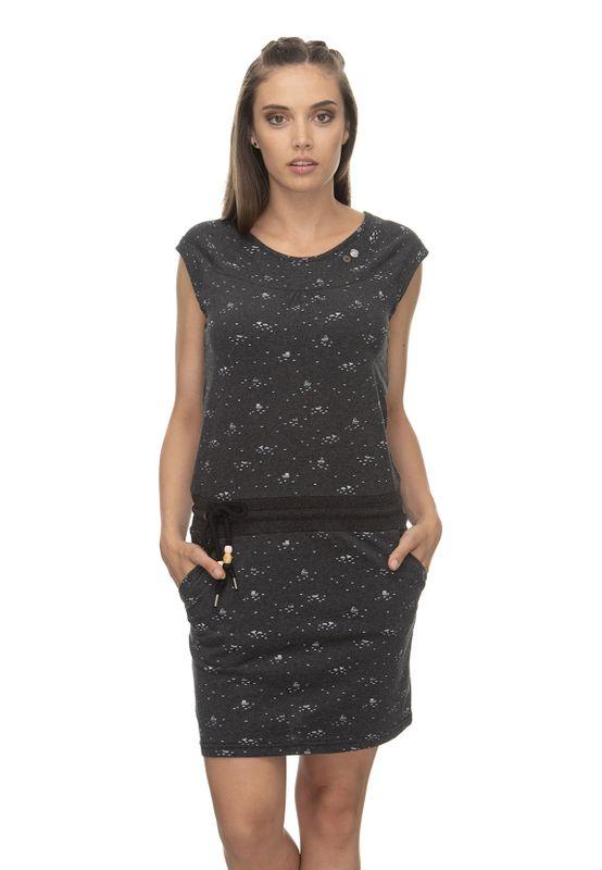 Ragwear Kleid Damen PENELOPE 2011-20028 Schwarz Black 1010 Ansicht