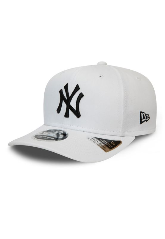 New Era League Essential 9Fifty Snapback Cap NY YANKEES Weiß Schwarz Ansicht
